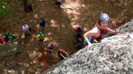 Adaptive Climbing at Hammond Pond
