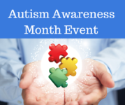 Autism Awareness Month Event in Massachusetts