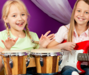 Virtual Music Therapy Classes for All Ages & Siblings