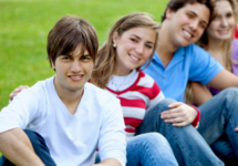 Adult Enrichment Programs for ages 18+with Disabilities in Greater Boston Teen young adults friends in a row