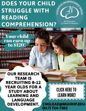 MGH Developmental Language Disorder Research Study in Massachusetts